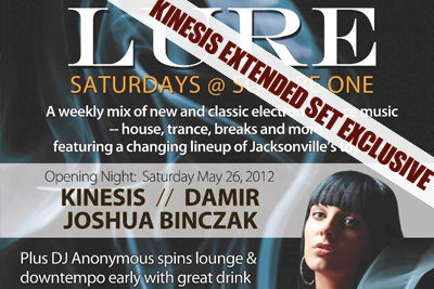 Kinesis – Live at Square One: 05.26.12