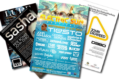 2012 Event Flyers