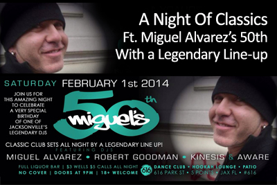 Miguel's 50th Ft. A Legendary Lineup
